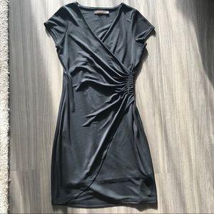 The Limited black wrap dress